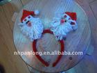 decorative christmas hair product fashion christmas hairband professional cheap hair clip hairband christmas hair accessorie