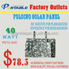40W Portale Solar Charger Bag for Laptop Waterproof