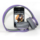 Factory Wholesale High Quality DJ Headphone Noise Cancelling HD Purple Headphone