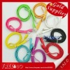 New arrival Noodle type color usb cable For iPad iPhone series