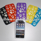 Full color printed Silicone Case For Iphone 4G