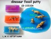 selling fossil crystal putty with dinosaur skeleton silly putty