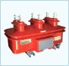 Indoor type three phase potential transformer