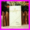 "Hotsale--""Enchanted Carriage"" Wedding Card--Western Style Rose Desgin Wedding Invitation Card with Ribbon Decoration MIC"