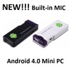 new android 4.0 mk802 mini pc google tv box with wifi mic