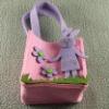 pink rabbit handbag