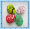 The hot small size decorative pattern dinosaur eggs growing pet toy for kid