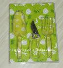 aluminium floral garden tools set