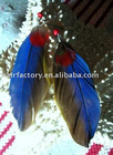 HOT style best selling Fashion feather Earrings FE-042