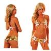 Sexy Model Club PVC Bikini