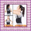 Adjustable shoulders back posture support