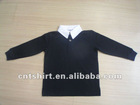 Long sleeve and blank logo clothes for children