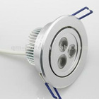 75mm cut hole 3*1w led downlight in commercial usage