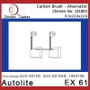 Autolite EX 61 alternator carbon brushes