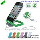 2012 Newest USB Hub Stand Holder for iPhone iPad Mobile Mp3 Mp4