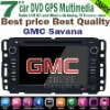 GMC Savana audio player with GPS 7'' HD touch screen,bluetooth,TV,RDS,CANBUS,radio,ipod,steering wheel conrol,Top supplier !