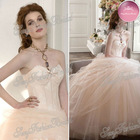 new arrival sweetheart corset top big puffy champange elie saab dresses for sale wedding dress gown 2013