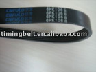 fan belt & auto fan belt & pk belt & automotive belt & poly v belts