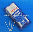 300ct plastic cotton buds with blister packing