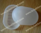 Plastic houseware soap dish,travel soap case