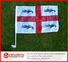 england-4-lions Car Flag/car window clip flag/Auto flag