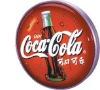 Coca-cola vacuum forming light box (round shape)