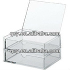 2 layer Acrylic Box QCY--WB-108