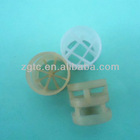 PE,PP,PVC,CPVC,PVDF Plastic Pall Ring as Absorbent for Tower Packing