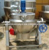 gas heating jacketed kettle / tilting PLG heating cookin pot