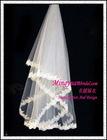 Plain Ornamented Long Veil