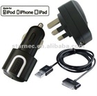modern attractive design rational construction car mobile charger with 30pin connector and adjustable rotation