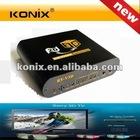 2D TO 3D Converter 1080P HD HDMI TV Box 3D Video Glasses & Remote Control
