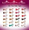 3D Toe Nail Tips