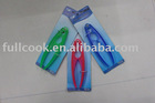 Colorful transparent plastic nutcracker
