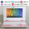 "7"" Android 4.0 Wifi Netbook laptop/1.2GHz CPU/1G RAM/4G HDD/ HDMI Output/Camera/RJ45 Ethernet/Best Gift for Children or Students"