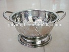 stainless steel rice strainer ,colander for more use