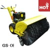 Loncin gasoline engine Road sweeper with brush / snow sweeper