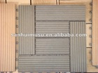 Interlocking WPC Decking Tiles