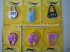 New style 3 digit Travel Lock for Luggage