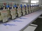 12 needles 12 heads cording embroidery machine