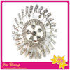 Hot sales Silver Crystal Diamante Brooches