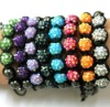 Cheap promotion Micro Pave stone shamballa bracelet