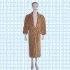 super soft coral fleece bathrobe