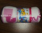 Polar fleece 100% polyester printed Micro fiber baby Blanket