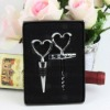 Beautiful Wedding Gift Wine Bottle Stopper and Opener