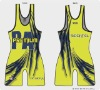 HOT!!! Lycra Matman Custom High Cut Wrestling Singlet