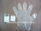 Disposable pe plastic gloves