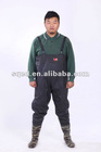 waterproof PVC chest waders can be used to fight against flood