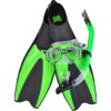 Diving swimming set mask & snorkel & fins