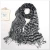 Ladies'Fashion Cowheels Crinkled long fringe Scarf Shawl